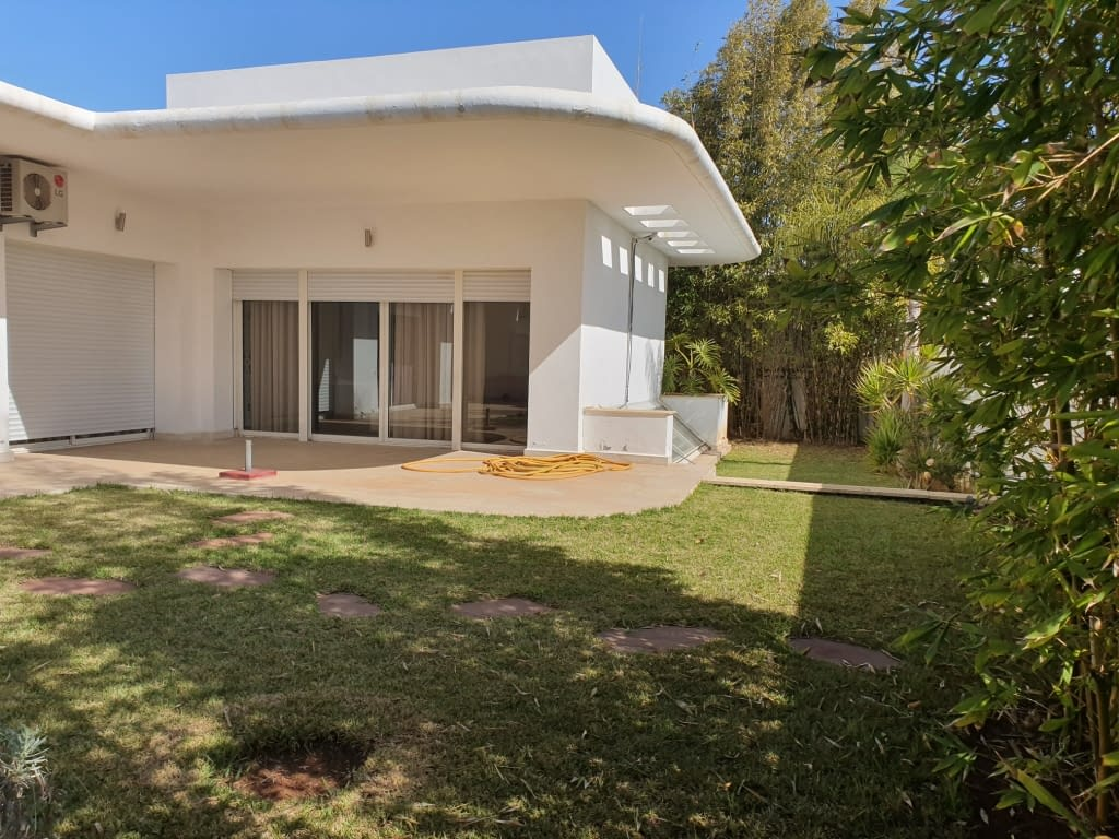Villa meublée en location à skhirat