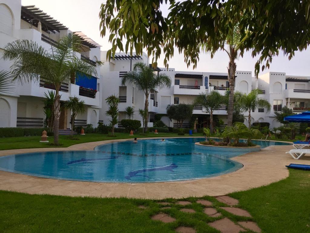 Vente appartement à Skhirat résidence avec piscine