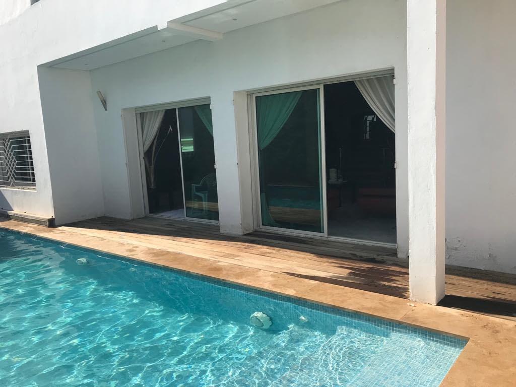 Villa Meublé en location à Hay Riad Rabat