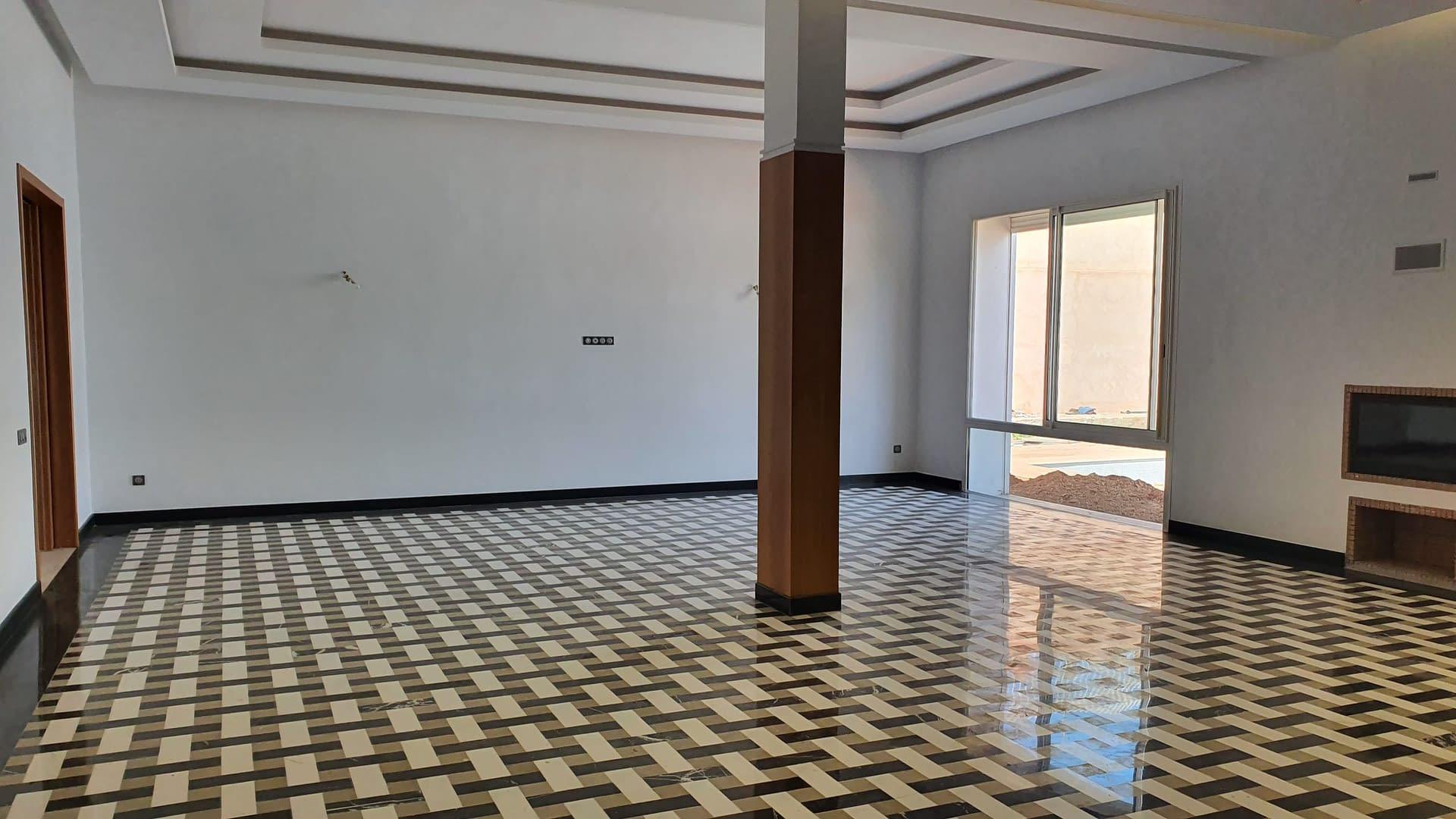 Location villa neuve à Rabat Souissi