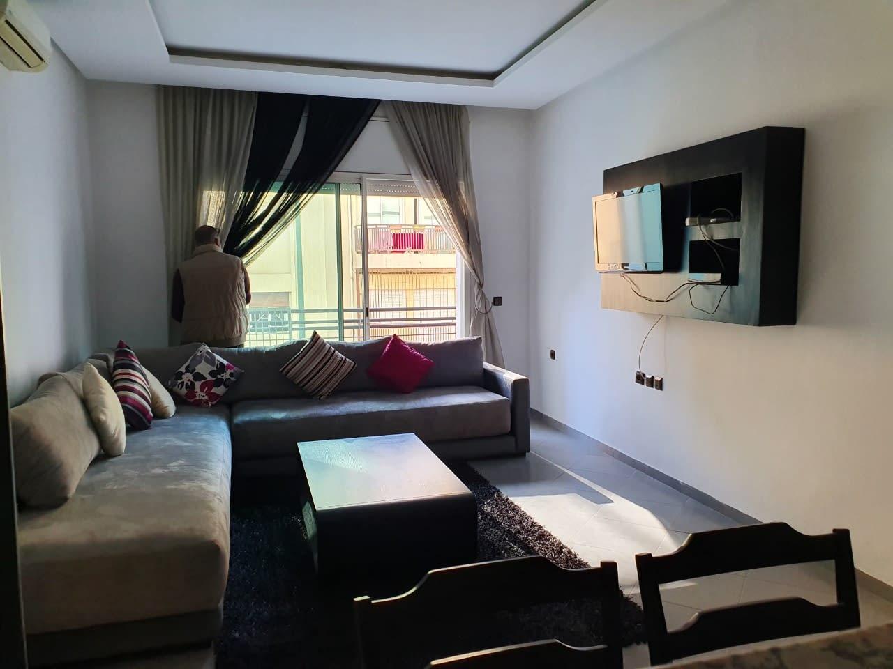 Appartement meublé en location à Agdal Rabat