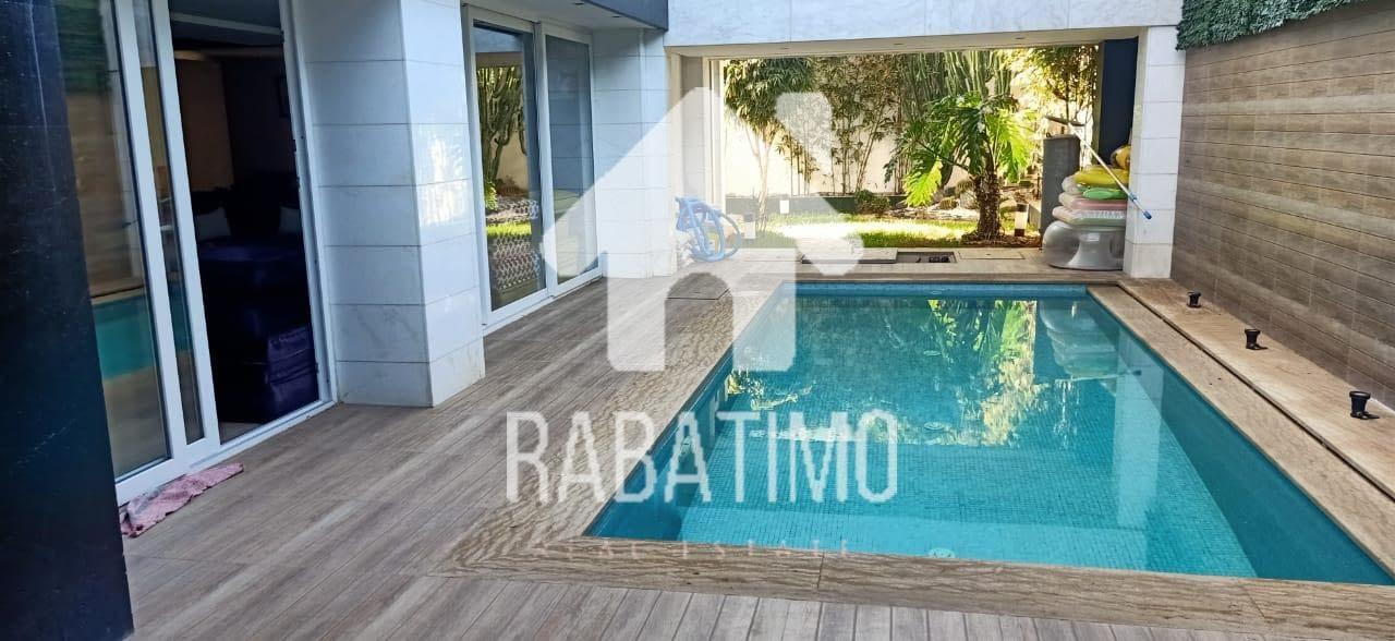 location villa moderne harhoura